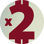 Multiply your deposit in 2 times!